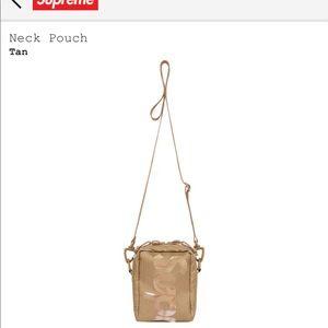Supreme Neck Bag